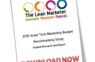 2012 Israeli Tech Marketing Budgets Report Now Available
