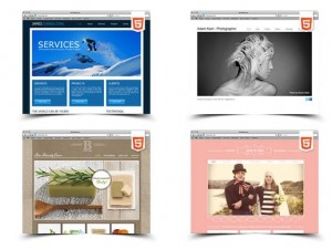 samples sites from Wix