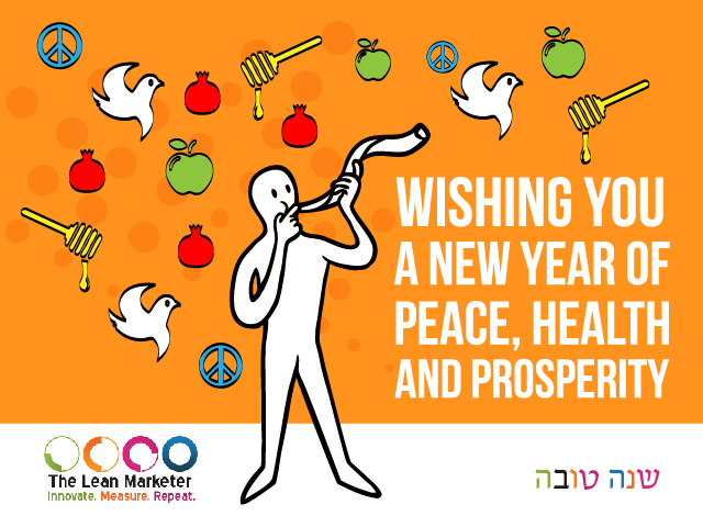 Shana Tova from The Lean Marketer